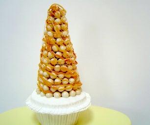 Croquembouche Cupcake