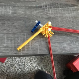 Easy K'nex Blaster With Real Trigger Action
