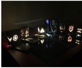 Laser Night Lights