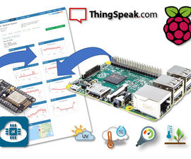 IoT Weather Station With RPi and ESP8266
