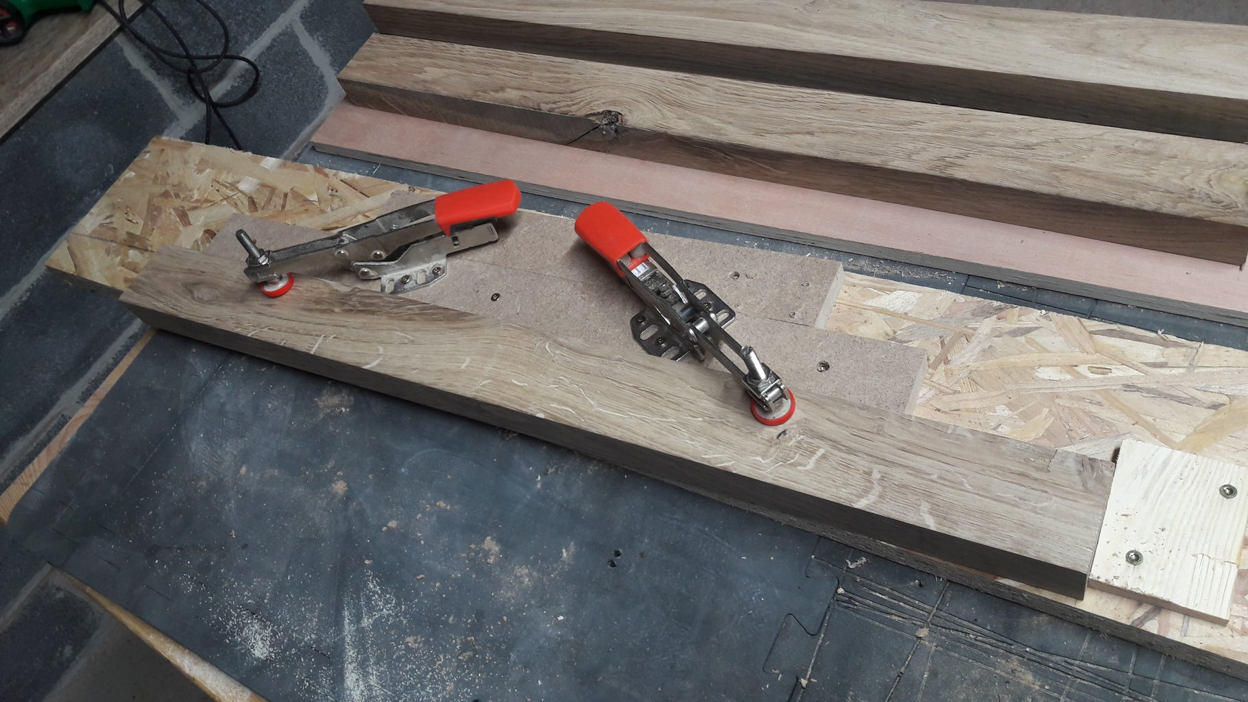 Making the Table Legs