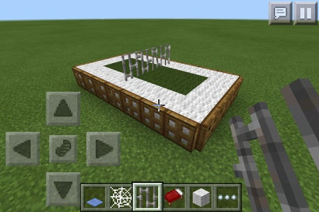 Place the Iron Fences Thing