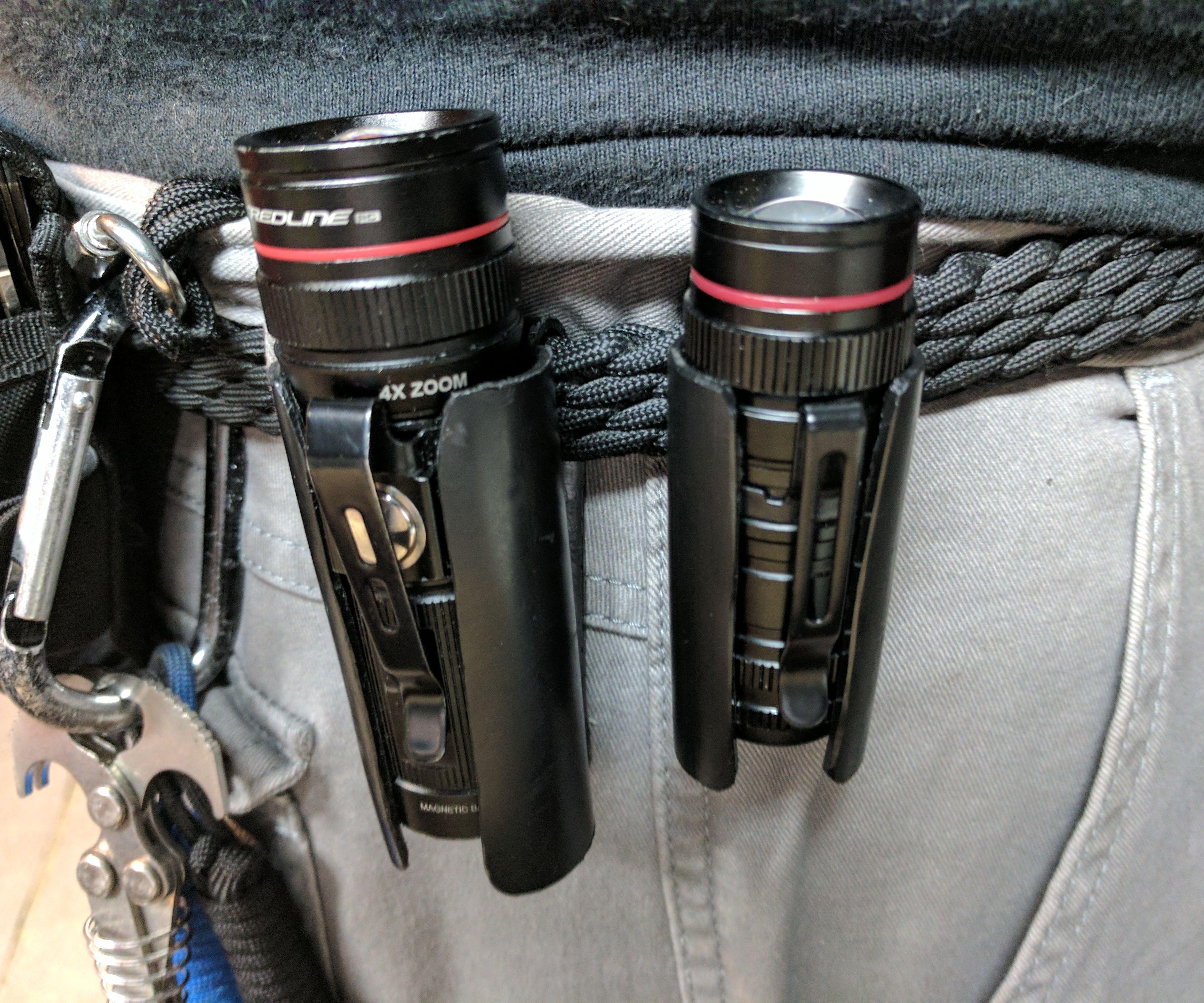 Cheap and Easy EDC Flashlight Holster