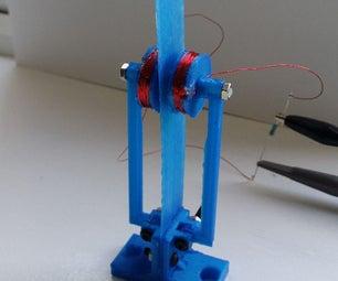 Wind Blade - Super Low Cost Micro Wind Powered Generator