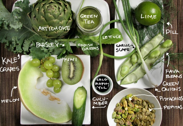 Green Foods! Colorful Cooking Without Artificial Dyes