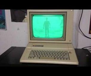 Kung Fury on My Apple II