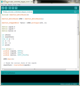 Program the Arduino Microcontroller