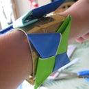 How to Make an Origami Ninja Star Bracelet