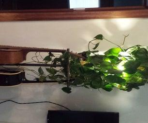 Plant Lamp Jam Stand