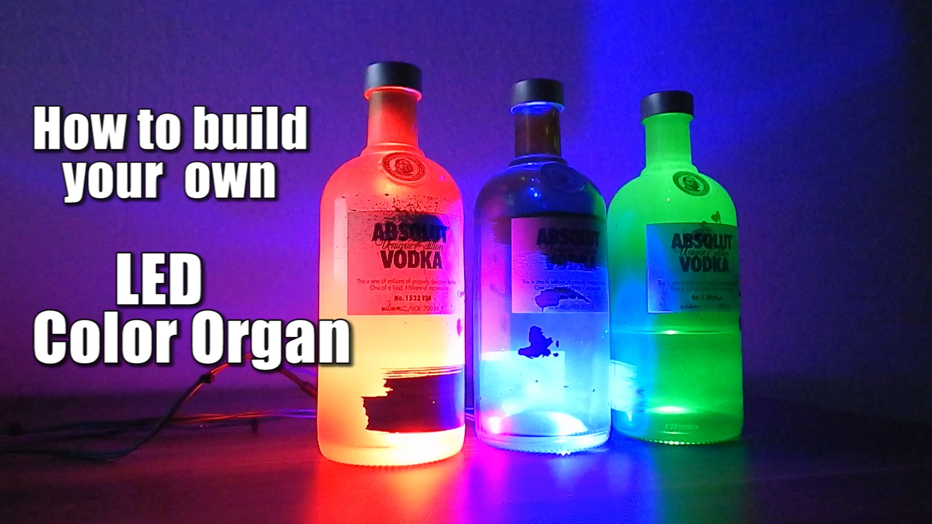 How to Build Your Own LED Color Organ    Arduino    MSGEQ7