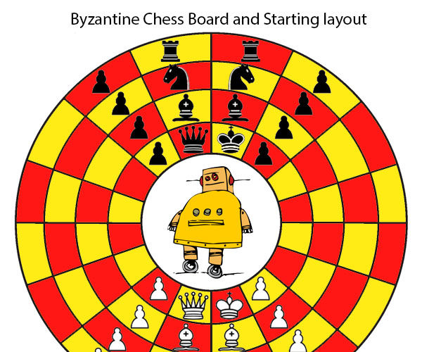 Byzantine Or Circular Chess How to Setup and play!