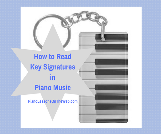 How to Read Key Signatures in Piano Music