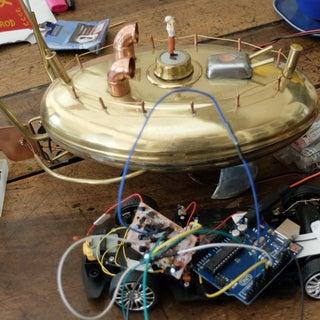Light Seeking R.C Car Hack (with Arduino)