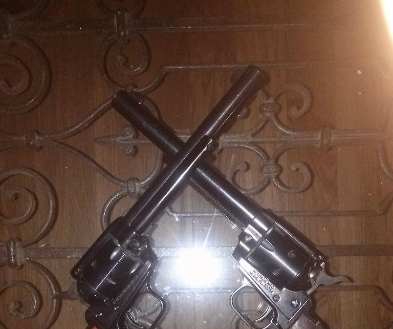 Custom Revolver Handle