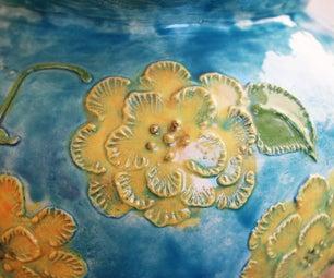 陶瓷刷刺绣