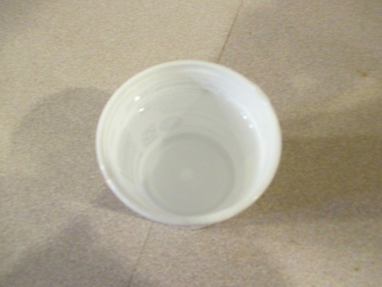 Ice Lanterns Out of Yogurt Cups