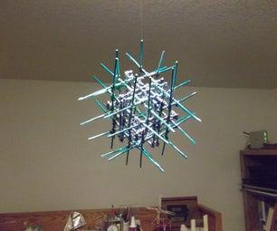 Spike Cube Rotating