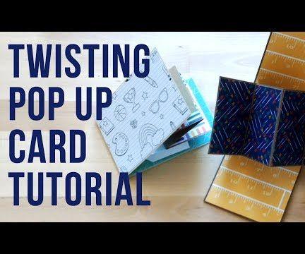 Twist and Pop Card