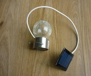 How to Convert an Outdoor Solar Light to an Inside Night Light