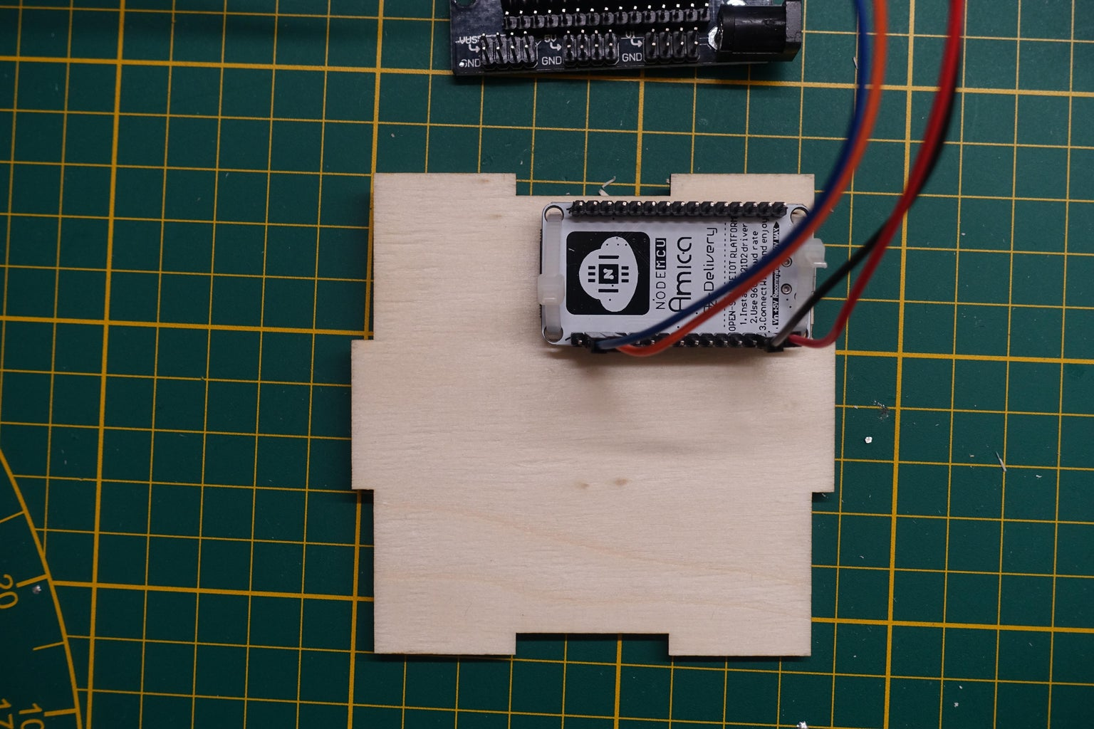 Build the Enclosure & Install Display and Sensor