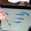 DIY iPad brush