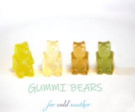Gummy Bears for Cold Weather