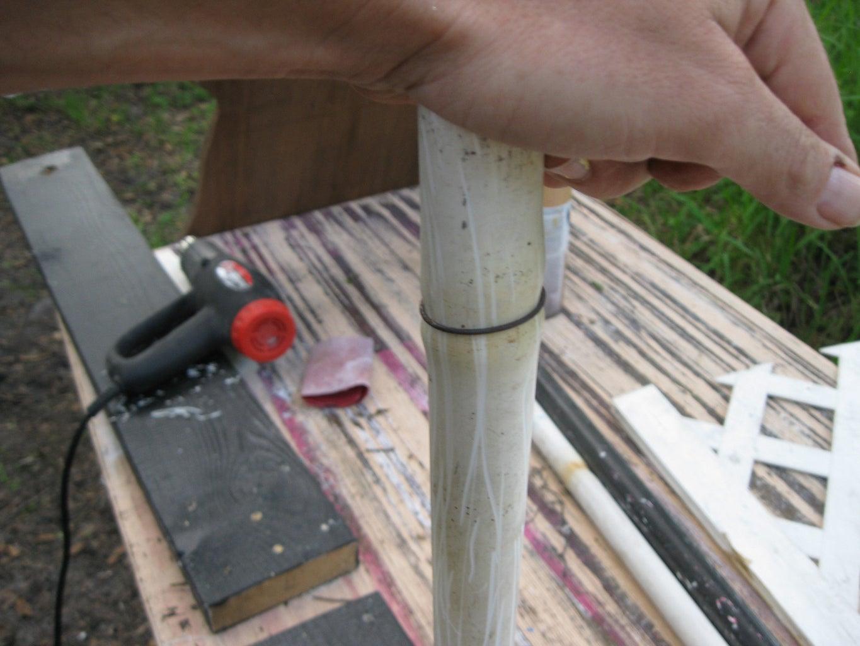 Shaping the PVC