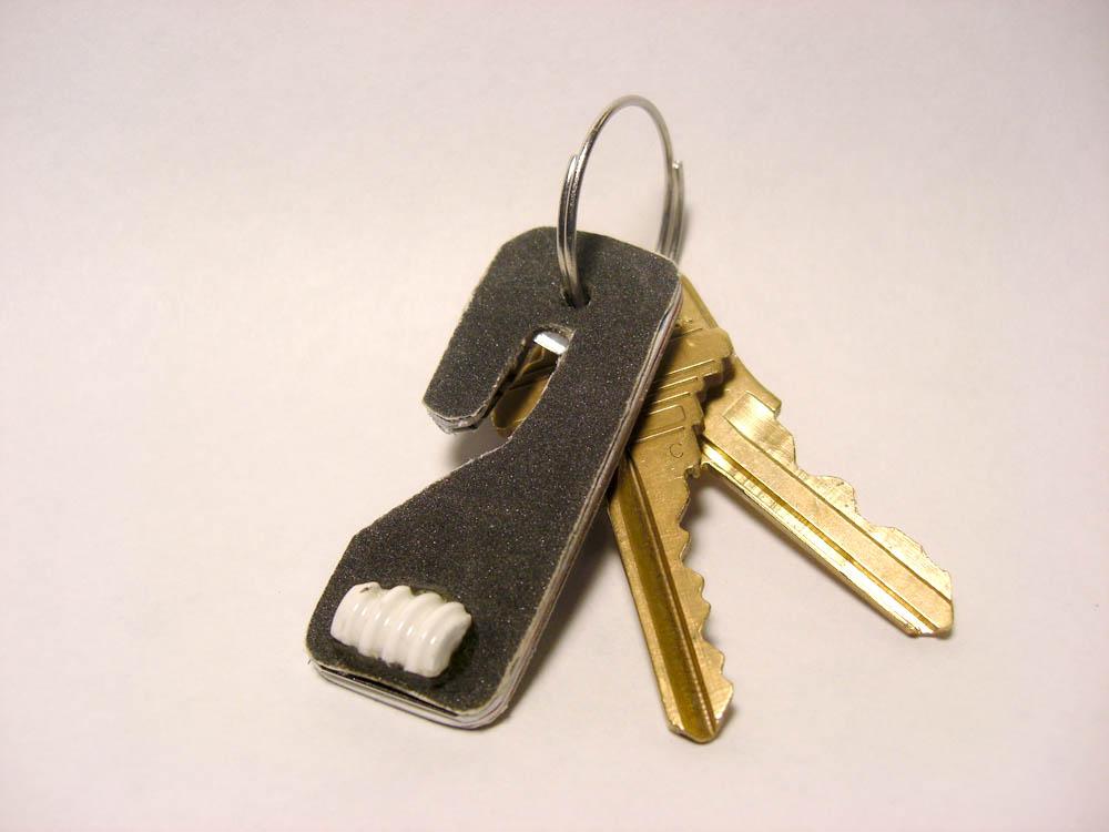 emergency vehicle escape keychain
