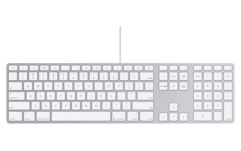 Cleaning Apple Aluminum Keyboard....or any other soft-touch keyboard