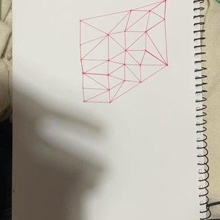 Hand-Drawn Voronoi Diagrams