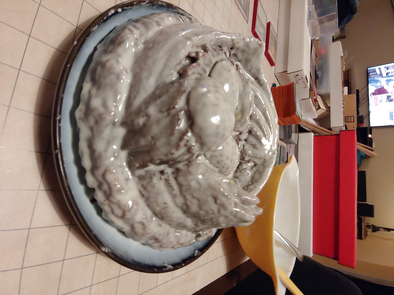 Glaze the Cake (twice)