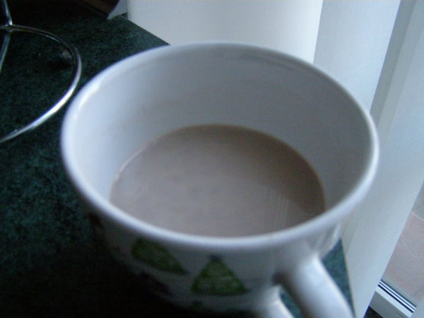 Hot Cocoa From Scarce Ingredients