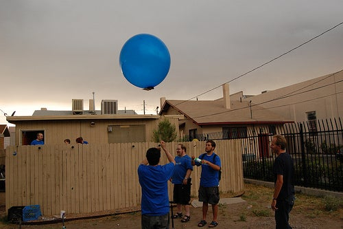 Budget Launch, Aerial Video Balloon