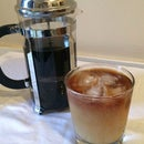 French Press Cold Brew Coffee