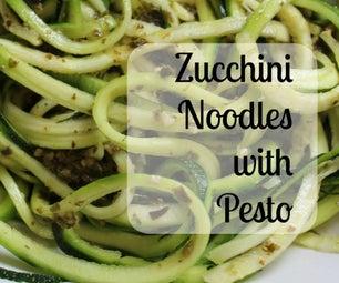 Zucchini Noodles With Pesto