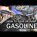 How to Fill Up a Motorcycle with Gasoline/Petrol Fuel