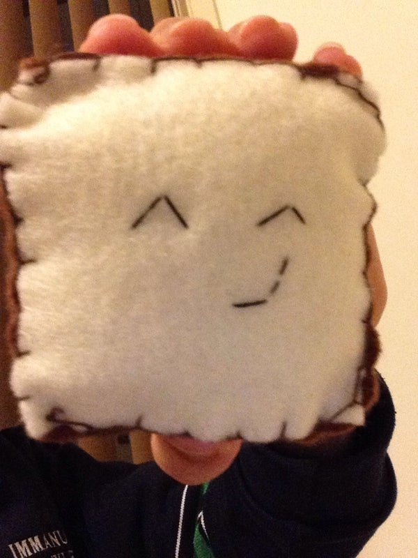Kawaii Slice of Toast