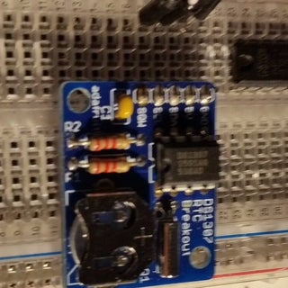 Setting the DS1307 Real Time Clock Using the Serial Monitor