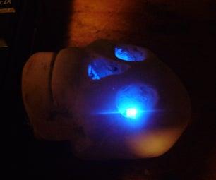 Glowing Skull Flash Drive