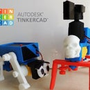 Tinkercad Robotics for School: Create TWO Walking Machines!