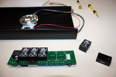 Install the MeanWell LDD Modules Onto the MakersDRIVER