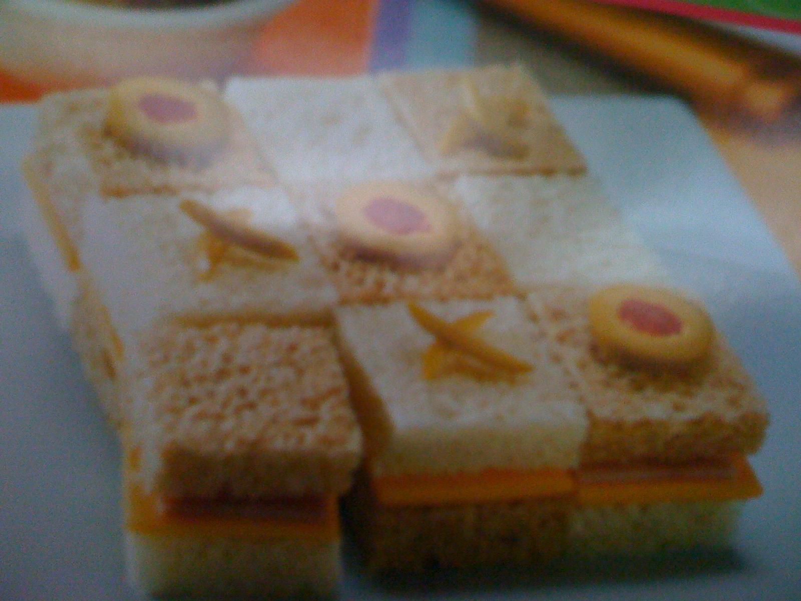 tic-tac-toe sandwich