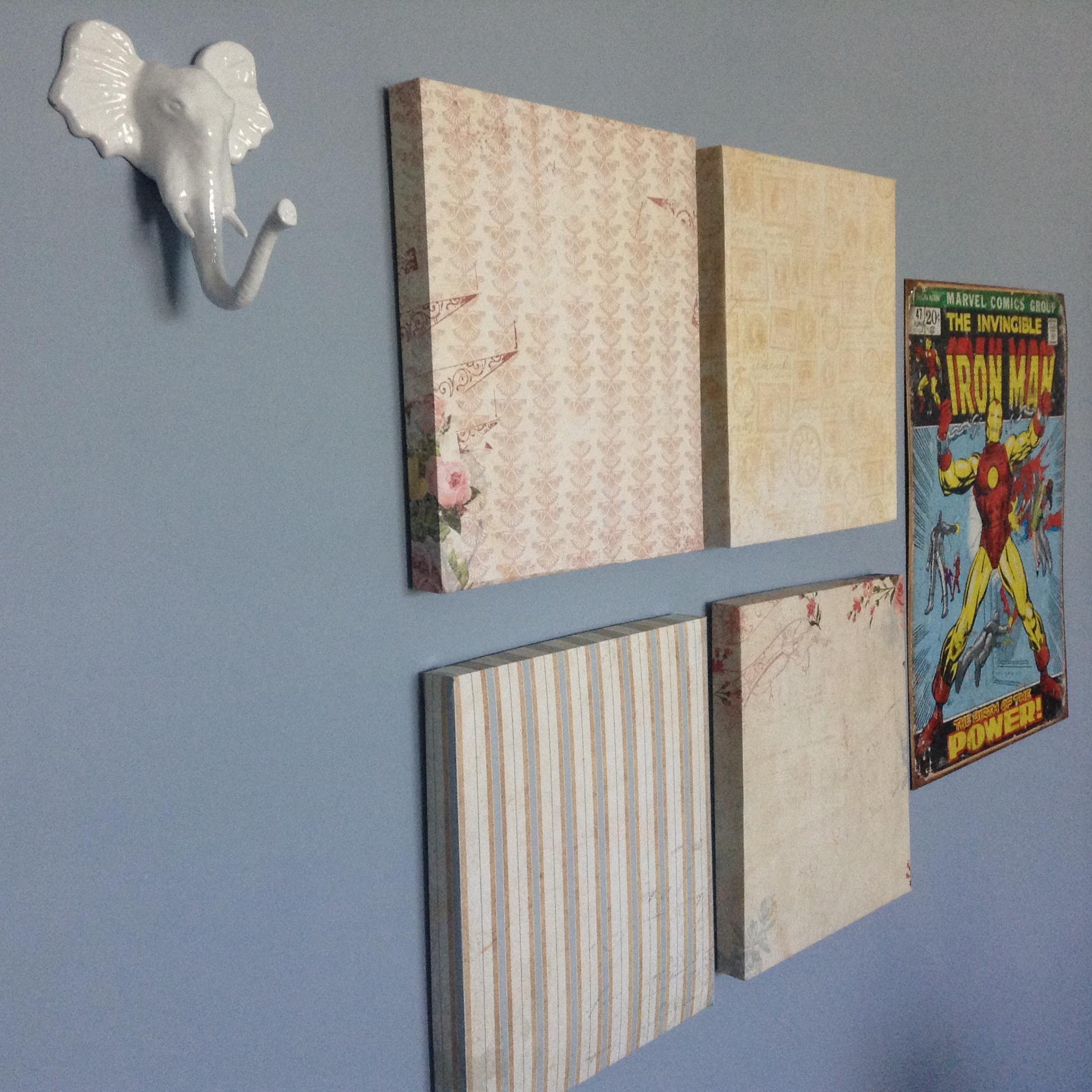 Diy Paper Wall Decor