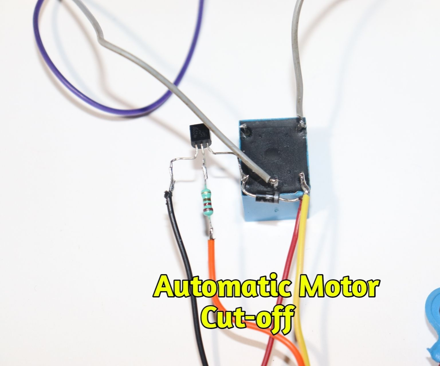 Automatic Water Pump Motor Controler