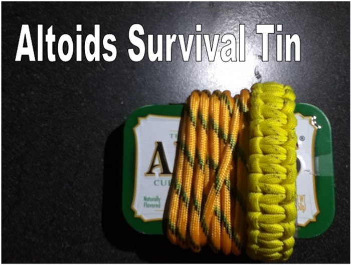 Altoids Survival Tin