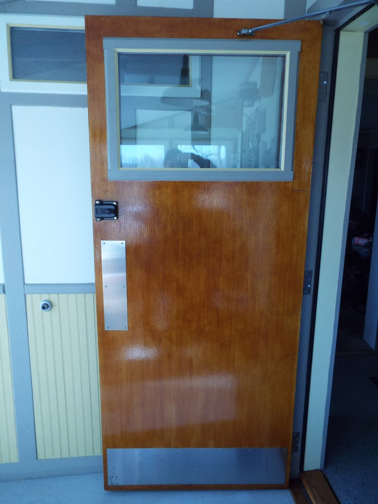 "Finishing the Interior of the ""Bathroom"" Door"
