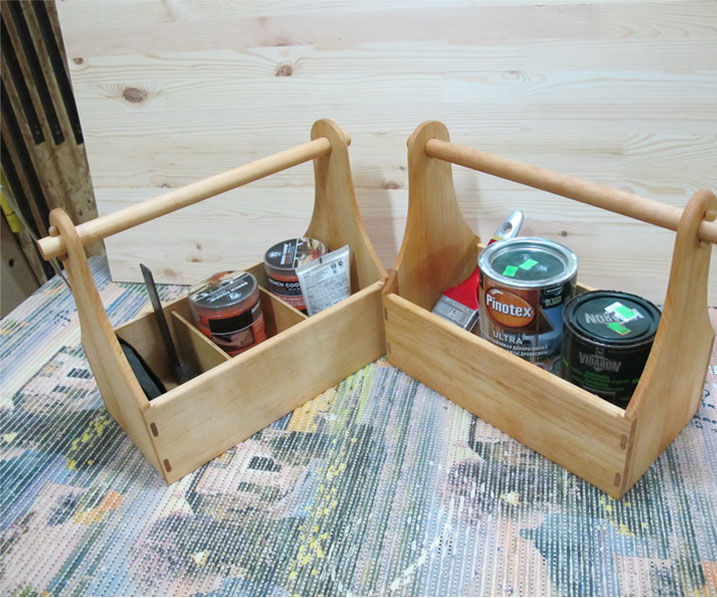 Simple and handy toolbox