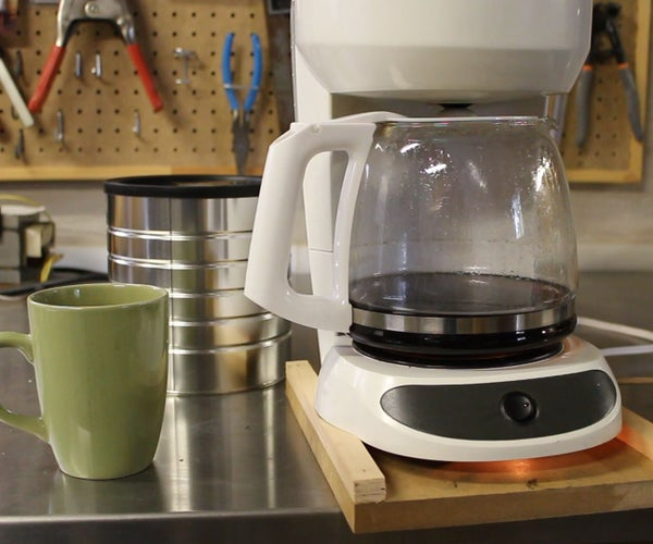 Candle Powered Coffee Maker