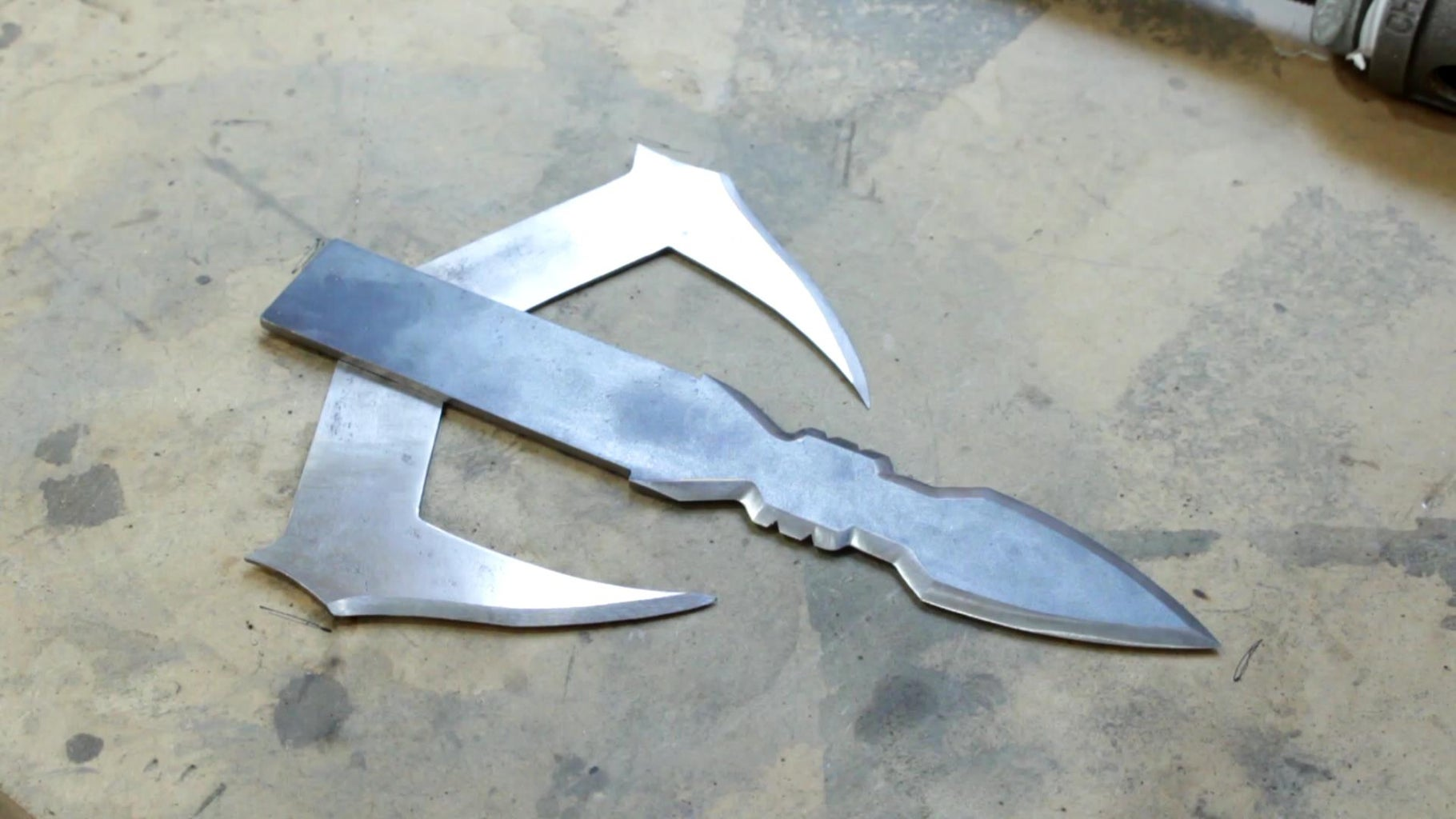 Finished Blades (just Cause the Picta Is So Dang Cool)