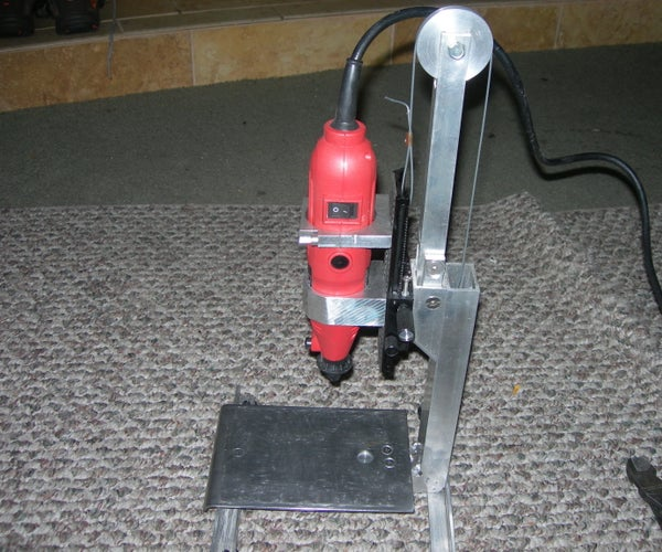 Precision High Speed Micro Drill Press From 'Useful Material'